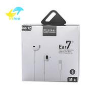 fones de ouvido universal venda por atacado-De alta qualidade Em fones de ouvido Com Fio Bluetooth fone de ouvido para iphone XR X XS MAX 8 7 6 com microfone