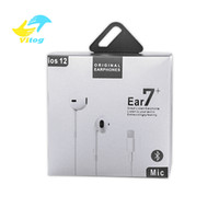 Wholesale earphone headphones microphone for sale - Group buy High quality In Ear Wired Bluetooth headphones Earphone for iphone XR X XS MAX with microphone