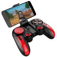 ingrosso regolatore del bluetooth per il telefono androide-Giochi per cellulare Joystick Bluetooth Pirati Wireless Game Controller Gamepad per Android Phone / PC / Android Tv Box Pacchetto Retail