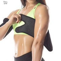 Wholesale wrap sauna slimming leg for sale - Group buy Armbands Body Shapers Sauna Arm Warmers Slimmer Sleeve Trimmers Wraps Loss Lose Fat Arm Shaper Weight For