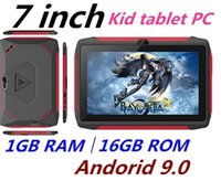 Wholesale TOP Quality kid Tablet PC Q98 Quad Core Inch HD screen Android AllWinner A50 real GB RAM GB Q8 with Bluetooth wifi factory