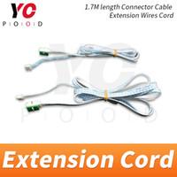 соединительные шнуры оптовых-YOPOOD 3P 4P Удлинитель Длина 1,7 м Разъем Кабель Удлинитель Провода Шнур 3-контактный 4-контактный для подключения опоры с контроллером