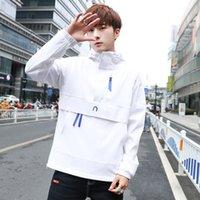 Wholesale korean slim hoodie online – oversize Men s clothing designer new spring and autumn hoodie men s Korean casual youth trend slim hooded men s coat