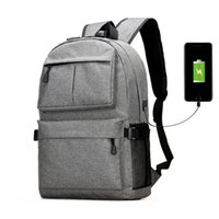 USB Unisex Design Backpack Book Bags for School Backpack Casual Rucksack  Daypack Oxford Canvas Laptop Fashion Man Backpacks 2019 2859e4752a598
