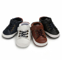 Wholesale pre walker boy shoes for sale - Group buy Pudcoco Newborn Kids Baby Boy Girl Pre Walker Crib Shoes Soft Sole Sneakers Months Shoes