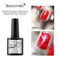 ibcccndc New Nail UV Gel Polish Burst Magic Remover Gel Liquid Surface Layer Nail Art Primer Acrylic Clean Degreaser Remover Lacquer B