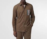l contador al por mayor-19ss camisa de lujo para el Reino Unido Marca para hombre diseñador camisetas Rayas T B letra logo imprimir camiseta Moda Contador Hombres Mujeres de Alta Calidad de Algodón T Shirt