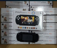 Wholesale hdmi mp4 player resale online - NEW PAP Gameta II Plus GB HDMI Bit Games MP4 MP5 TV Game Consoles Portable Handheld Game Player TV Out Camera E Book PVP Pxp3 PVP GB Boy