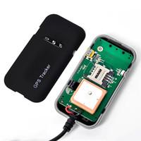 ücretsiz hyundai gps harita toptan satış-GT02A Araba GPS Tracker Google Link Gerçek Zamanlı Takip Araba GPS Bulucu Aksesuarları Konumlandırma