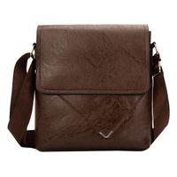 Wholesale multifunction leather shoulder bag resale online - OCARDIAN Handbags Men s Business Diagonal Cross Bag Briefcase Solid Color Classic Shoulder Multifunction Crossbody Bags M22