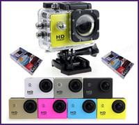 caméra vidéo résistant à l'eau hd achat en gros de-10pcs SJ4000 1080p Full HD Action numérique caméra de sport écran 2 pouces sous étanche 30M DV enregistrement Mini Sking Vélo Photo Caméra Vidéo