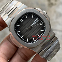 Wholesale transparent dial wristwatches resale online - Top Luxury Watch Brown Dial Asia Movement mm A Mechanical Transparent Stainless Steel Automatic Mens Watches Wristwatches