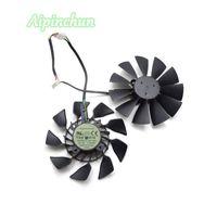 Wholesale video fan resale online - Aipinchun New mm T129215SU Cooler For ASUS GTX GTX780 Ti R9 R9 X X Graphics Video Card Fan Cooling