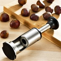 Wholesale opener for sale resale online - BEIJAMEI Stainless Steel Peeled Chestnut Artifact Multi functional chestnut shell opening Small Chestnut opener peeler for sale