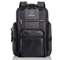erkek naylon çanta toptan satış-Balistik naylon tumi-232389 erkek Iş Eğlence Çanta 15.6-inç Bilgisayar Çantası Öğrenci omuz çantası ZDL 89