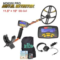ingrosso nuovo rivelatore d'oro-Nuovo display LCD Underground Metal Detector Professional Gold Digger Treasure Hunter