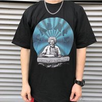 Wholesale stamp online - Fashion designer mens Tshirt palaces cotton high quality comfortable Tshirts summer hot T shirt hot stamping T shirts under breathable tee