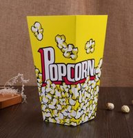Wholesale popcorn favor bags resale online - Mini Party Paper Popcorn Boxes Candy Favor Bags Wedding Birthday Movie Party Supplies