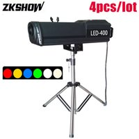 venta de equipos de iluminación al por mayor-Hot Sales LED Siga Spot Light Manual Zoom 150/200/300 / 400W 6 colores Etapa Iluminación Efecto Luces DJ Disco Mostrar equipo con Flightcase