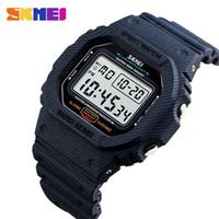 Watches Zk20 Fashion Sport Watch Men Compass Watch Alarm Clock Chrono Back Light 5bar Waterproof Digital Wristwatch Reloj Hombre 1216
