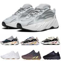 athletische schuhe stiefel großhandel-700 Runner Chaussures Kanye West Wave Runner 700 Stiefel Herren Damen Boosty Athletic Sportschuhe Laufschuhe Turnschuhe Eur 36-45 mit Box