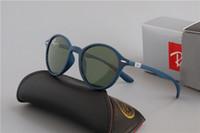 lente de aviador al por mayor-Gafas de sol de lujo Ray polarizadas Hombres Mujeres piloto gafas de sol UV400 Gafas Gafas de piloto conductor Bans Marco del metal lente polaroid cuadro CCO