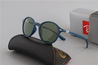 Wholesale aviators sunglasses blue lens for sale - Group buy Luxury Ray Polarized Sunglasses Men Women Pilot Sunglasses UV400 Eyewear Aviator Glasses Driver Bans Metal Frame Polaroid Lens box bcc