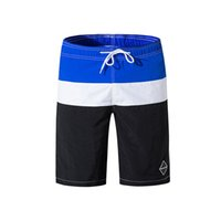 strandauskleidungen groihandel-New Quick Dry Sommermens Board Shorts Herren Bademode Badeshorts Beach Wear Mit Liner Männer Badehose 3XL