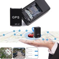 Wholesale mini gps car tracking device resale online - GF07 GSM GPRS Mini Car Magnetic GPS Anti Lost Recording Tracking Device Locator Tracker rastreador tracker gps Buil in Li ion Battery