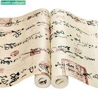 chinesische kalligraphie wand kunst großhandel-Schreibschriftkalligraphiemusterhausraum-Hintergrundkulturhotelkastenstudienschlafzimmerhintergrund-Wandpapier der chinesischen Art