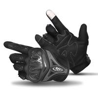 alpiner handschuh großhandel-AX Motorradhandschuhe Rennhandschuhe Touchscreen Atmungsaktiv Tragbare Ritter Schutzhandschuhe Guantes Moto Luvas Motocross