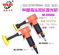 Wholesale pneumatic rod for sale - Group buy Wilin Degree Elbow Pneumatic Grinder Right Angle Air Tools extend Rod Sanders Blasting Grinding pad Inch Inch