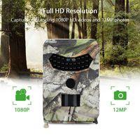Wholesale little cameras resale online - PR MP IR Night Version Wildlife Observer LED Hunting Recorder Waterproof Wild Camera Wild Vision Surveillance Camera