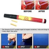 Wholesale car filler pen for sale - Group buy Car Fix It PRO Car Scratch Repair Remover Filler Sealer Pen Clear Coat Applicator Tool Clear Pens Packing car styling care