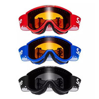 Wholesale colors goggles ski resale online - Retail Cool Cariboo Smith OTG Ski Goggles Colors Red Blue Black Sports Goggles from FW15 high quality Ride Worker glasses