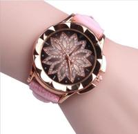 кросс часы женщина оптовых-Watch women watch cross-border fashion belt Korean dorp shipping