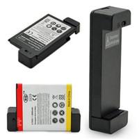 cep telefonları için evrensel pil toptan satış-Evrensel Ekstra Pil Şarj Mini USB Cep Cep Telefonu Yedek Ekstra Pil Şarj Dock Cradle YENI