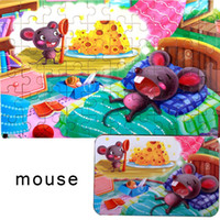 Wholesale 12 zodiac puzzle for sale - Group buy Kids Cartoon Chinese Zodiac Pattern With gt Years Numbers x Puzzles x Box Educational Toy Puzzles