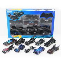 klassisches auto modell metall großhandel-10 teile / satz Mini BATMOBILE Diecast Cars 1:64 Galvani Metall Schnell und Furious Batman The Dark Night Modell oldtimer Spielzeug für Kinder