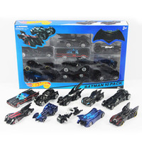 Wholesale batman toys for kids for sale - Group buy 10pcs set Mini BATMOBILE Diecast Cars Electroplated Metal Fast and Furious Batman The Dark Night Model classic Car Toys for Kids