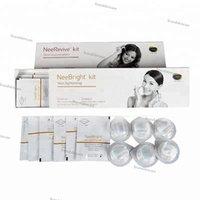 máquina anti acné al por mayor-Máquina facial con kit de tratamiento para el acné Kit de consumibles / blanqueadores y antiedad Kit / rejuvenecimiento de la piel Nee Revive / Nee Bright.
