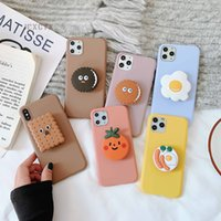 Wholesale cookies case for sale - Group buy 3D Cute Cartoo Oreo Cookies Soft phone case for iphone X XR XS Pro Max S plus Holder cover for samsung S8 S9 S10 Note