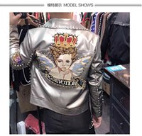 Wholesale zipper rivets jacket for sale – winter New Arrival Men s Coats Jackets Runway Luxury Design Europe Brands Casual Style Men s Clothing