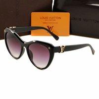 cateye güneş gözlüğü erkek toptan satış-2018 Yeni fransız marka güneş gözlüğü 1854 cateye moda kadınlar high end klasik erkekler güneş gözlükleri ücretsiz kargo
