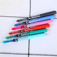 Wholesale korean highlighters resale online - 1pcs Fashion Highlighter Pen Creative Ink Pen Marker For Kids Students Gift Novelty Item Korean Stationery School Supply