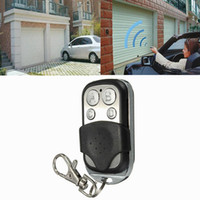 Wholesale garage gate openers resale online - 4 button MHZ MHZ MHZ Garage Door Remote Control Key Door Opener Electronic Gates Vehicle Central Locking Systems car