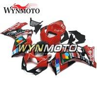 motocicletas gsxr plásticos venda por atacado-Preto Vermelho Quadros Motocicleta Carenagens Para Suzuki GSXR1000 K7 2007 2008 Injeção De Plástico ABS gsxr 1000 07 08 motocicleta Cobre capotas