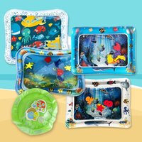 Water Filled Play Mat Inflatable Baby Water Fun Cushion for Children Infants UK