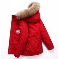 casacos chineses venda por atacado-<Br /> <br /> <br /> <br /> <br /> <br /> <br /> <br /> <br /> <br /> <br /> <br /> <br /> <br /> <br /> <br /> <br /> <br /> ganso chinês jaqueta de down jaqueta ao ar livre com gola grande