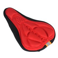 Wholesale cycling gel seat cover resale online - 4 M Cycle Bicycle PC Cycling Bike D Silicone Gel Pad Seat Saddle Cover Soft Cushion